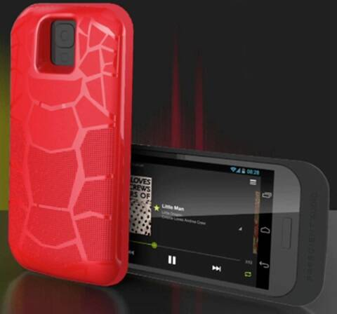 AudioCase will work with iPhone 5s, 5c
