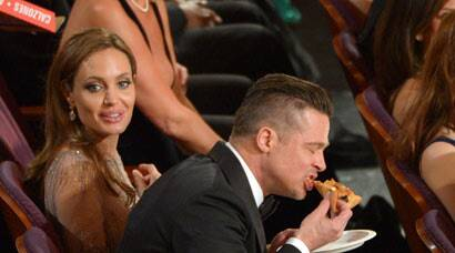 Those Oscar pizzas weren't props