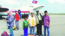 'Hope plane has been hijacked… there is chance of mom's return'