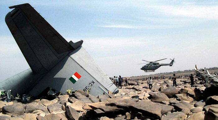 Quoting villagers, Karauli District Collector B L Jatawat told PTI that the plane probably hit some rocky area and caught fire on the bank of Chambal river and ravine areas at Gotaghat. (PTI)