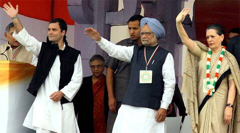 Rahul Gandhi will visit Odisha on March 31 followed by Sonia Gandhi. The date for Manmohan Singh's campaign was not specified yet. IE Photo
