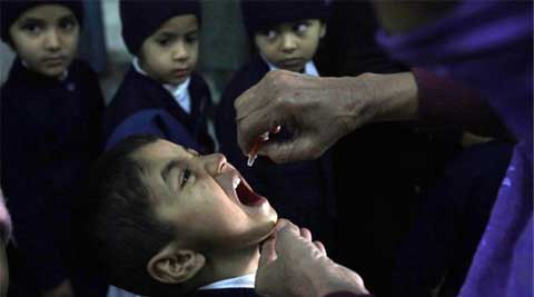 Pakistan recorded 92 cases of polio in 2013. (Reuters)