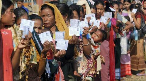 The north eastern state has 11,74,663 voters this year compared to 13,17,729 voters in 2009. (PTI)