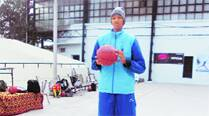 18-yr-old basketball champion fights brain tumour