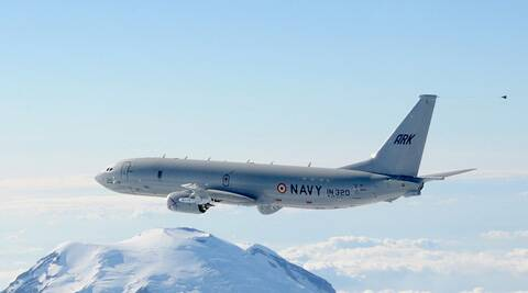 Indian Navy had order P8-I Poseidon aircrafts from the US. (WIKIPEDIA)