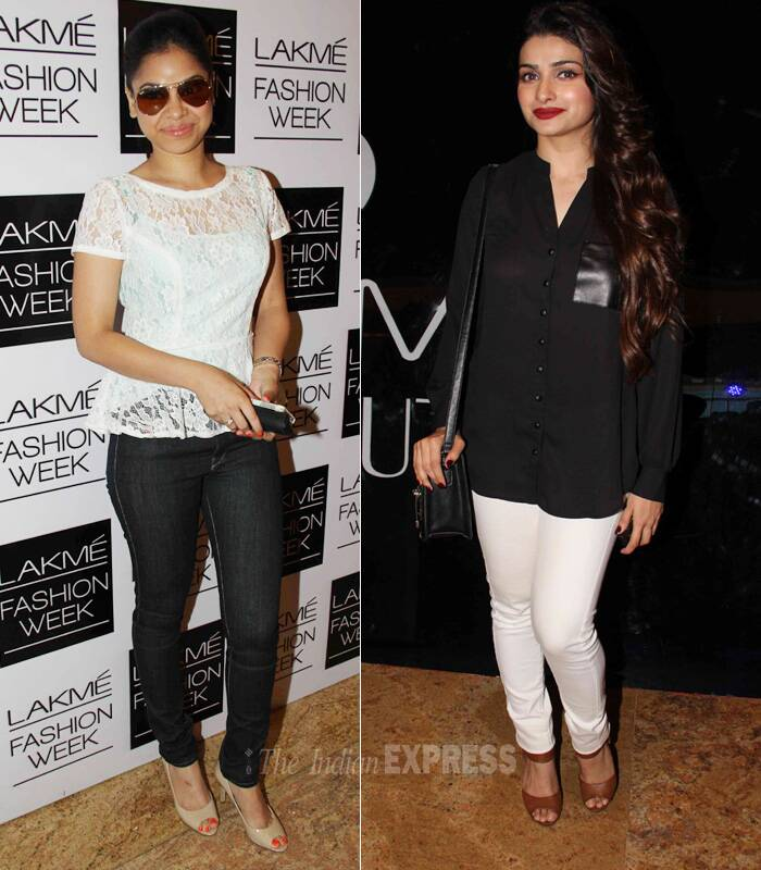 Divas--  Prachi Desai and Sumona Singh. (Photo: Varinder Chawla)