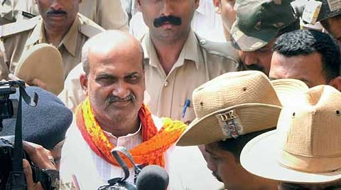 Ram Sene chief Pramod Muthalik has had a love-hate relation with BJP. (PTI Photo)