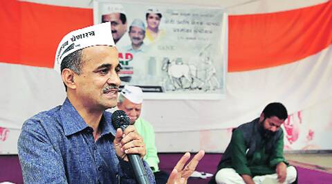 AAP candidate Subhash Ware finds support from social organisations