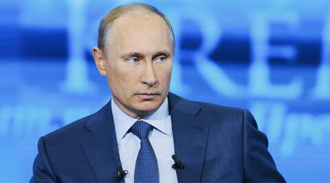 Russian President Vladimir Putin. Last month, Russia offered the overseas arm of state-run ONGC, OVL a stake in nine offshore oil and gas blocks in the Barents Sea and one in the Black Sea. (Reuters)