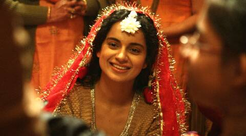 Kangana Ranaut blows to pieces most effectively in her dignified portrayal of Rani in the recently released Hindi film, Queen.