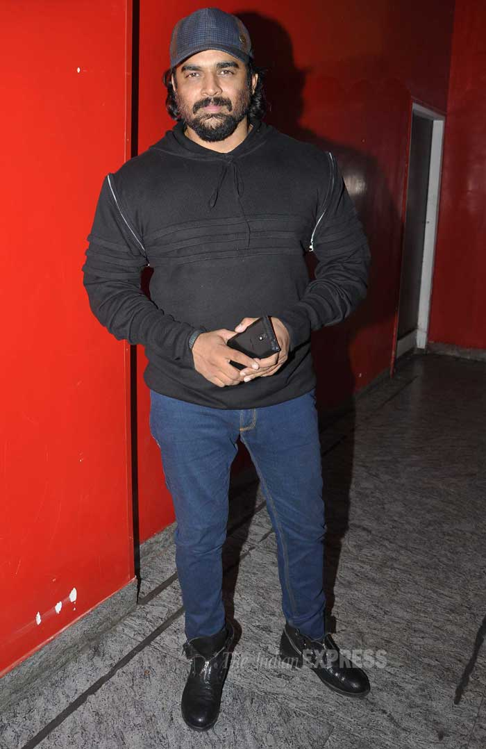 R. Madhavan who has been missing from the scene for a while now also resurfaced. (Photo: Varinder Chawla)