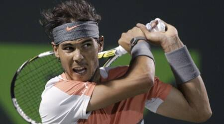 World No. 1 Nadal beat Fabio Fognini 6-2 6-2. (AP)
