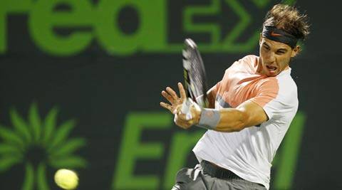 Rafael Nadal crushed Lleyton Hewitt 6-1 6-3 on Saturday (USA Today Sports)