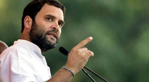 Rahul Gandhi reportedly did not budge and Congress leaders had to give in. (Express Archive)