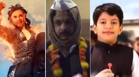 Here's a compilation of some election spoof videos, mocking Narendra Modi, Rahul Gandhi and Arvind Kejriwal.
