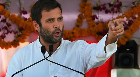 Rahul started off by asking the women to be seated in the front. (PTI)