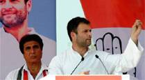Gandhi said it is only Congress which can balance between prosperity and justice.