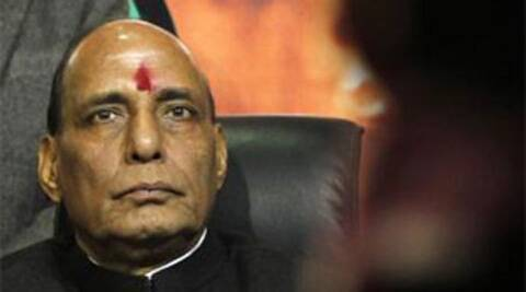 BJP national president Rajnath Singh.