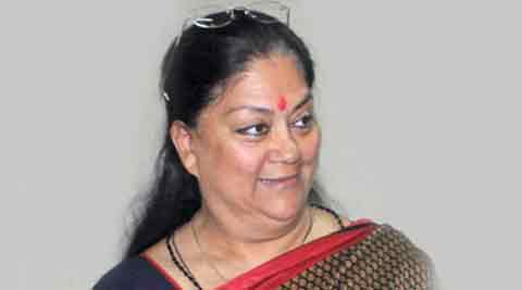 People in the state are under a debt of Rs 75,000 each and the economy suffered due to the policies of the Congress govts, said Raje.