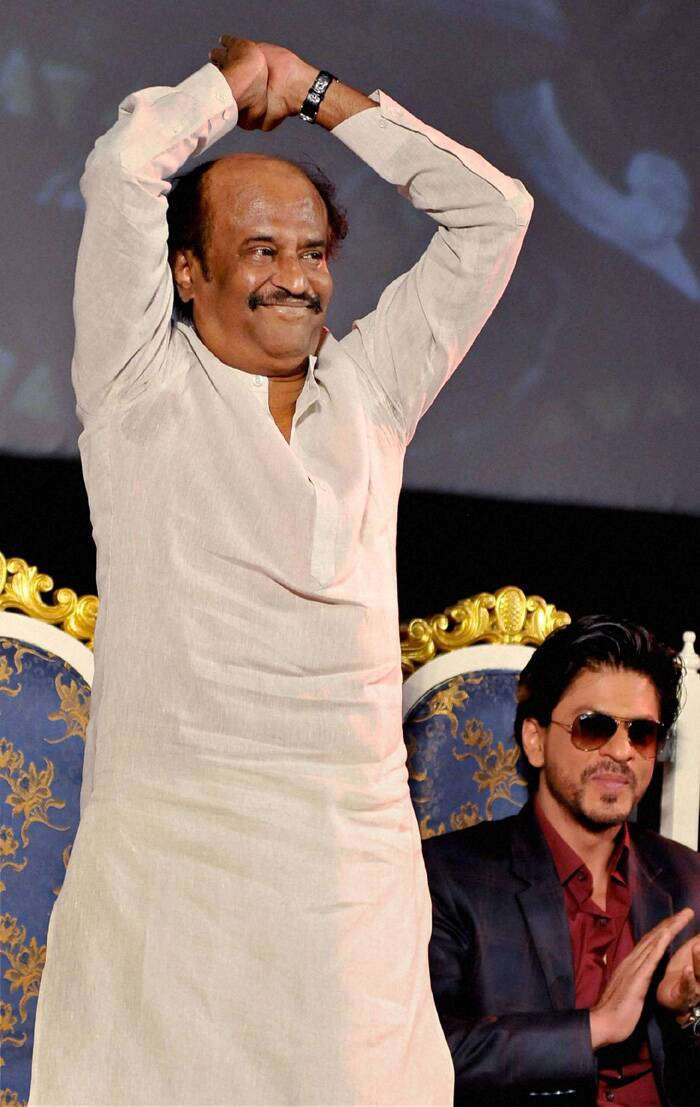On being asked how different 'Kochadaiiyaan' was, Rajinikanth said the film was made with motion capture technology, a first in the country. (PTI)