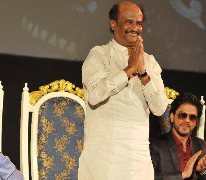 Rajinikanth told reporters after the event, that the trailer and the songs have been well received and the film is going to release next month. (Photo: Facebook)
