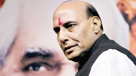 """Wo gulamo ke adhyaksh hai (he is President of slaves)"", Lal Muni Sharma on Rajnath Singh"