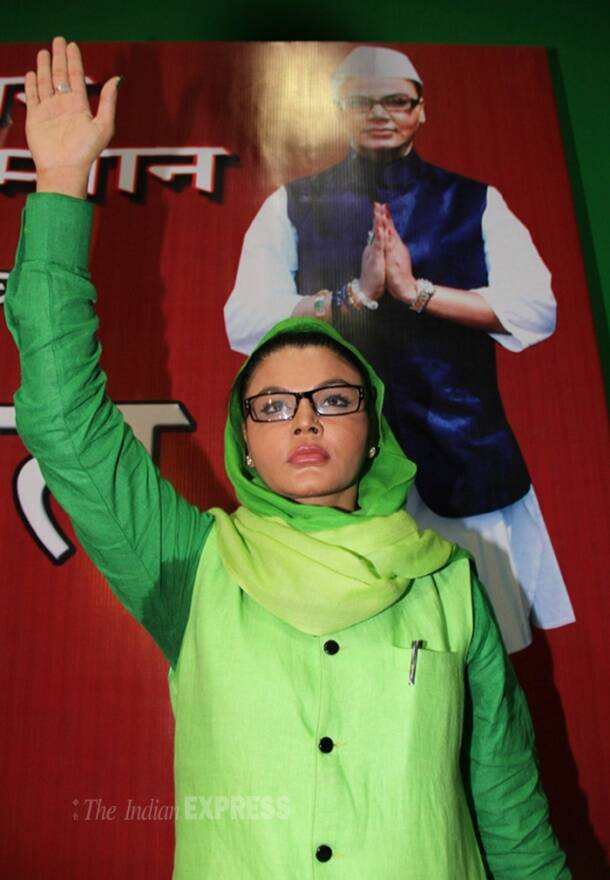 Rakhi Sawant to contest from Mumbai North-West