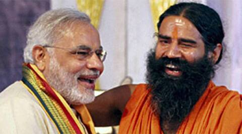Ramdev kicked-off his campaign of visiting 500 homes in several parts of Delhi from Paschim Vihar at 8.30 am.