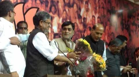 Upset with Lalu, Ram Kripal Yadav formally joined BJP.(Photo courtesy: Twitter)