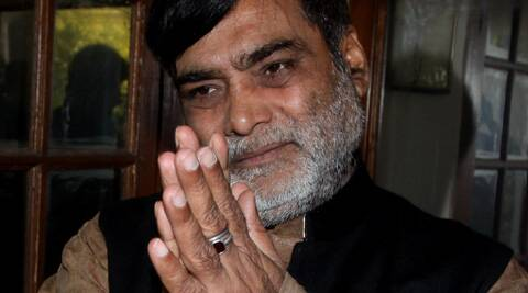 """RamKripal Yadav, who is the newly-elected BJP MP from Patliputra, had earlier termed the Nitish Kumar resignation episode as a """"drama"""". (Express Archive)"""