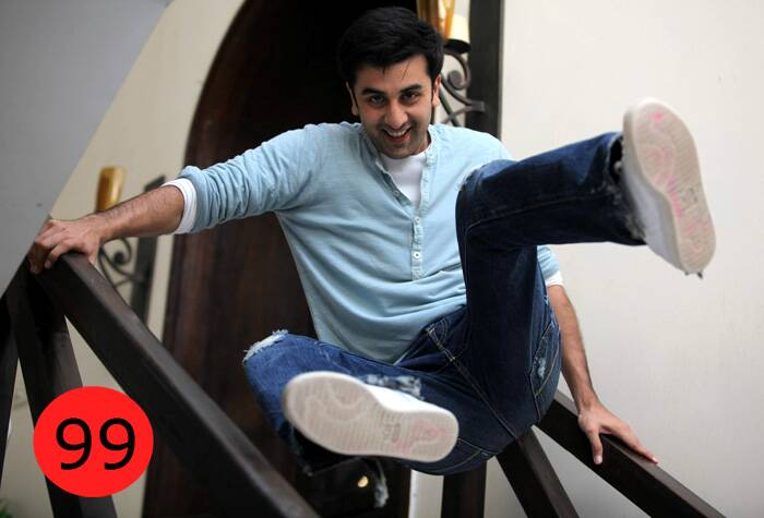 "Ranbir Kapoor, 31 – Actor<br />WHY: With his eclectic cinema choices, Ranbir has cracked the right balance between the commercial blockbuster and the creative film experience.<br />BY THE WAY: He loves reading biographies of actors. His favourite is Errol Flynn's autobiography,  My Wicked Wicked Ways.<br /><br /><a href=""http://indianexpress.com/photos/picture-gallery-others/ie-100-modi-rahul-and-others-in-top-50/"" target=""_blank""><font color=""#0260a8"">Click here for the complete list of IE 100</font></a>"