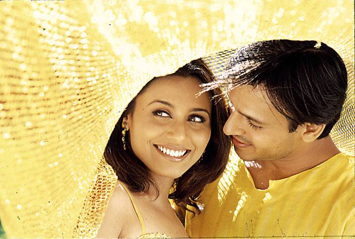She then appeared in romantic drama 'Saathiya' opposite Vivek Oberoi, a remake of the Tamil box office hit 'Alaipayuthey'. Directed by Shaad Ali, the film was received well and earned Rani a Filmfare Critics Award for Best Actress and a Best Actress nomination.