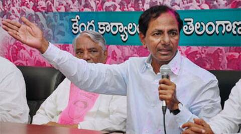 The TRS decision was learnt to have been made in response to the Congress's refusal to make the party's leader K Chandrasekhar Rao chief minister of Telangana before the elections. (PTI)