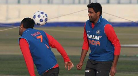 It would be unfair to compare Ashwin with Kumble and Harbhajan because both are great bowlers, says Muralitharan (IE Photo)