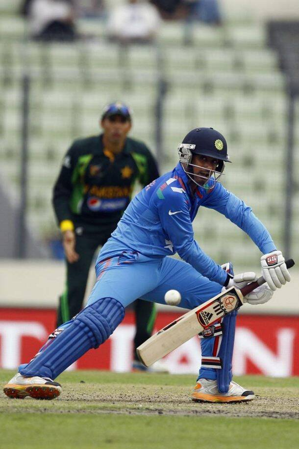 Ambati Rayudu, too, chipped in with the bat and stitched crucial partnerships with Karthik and Jadeja (AP)