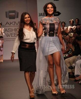 Lakme Fashion Week 2014: Jacqueline Fernandez, Richa Chadda turn showstoppers