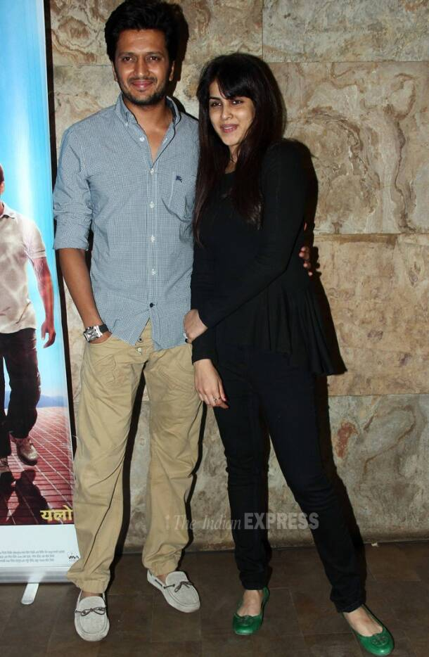 Partners Salman Khan, Govinda watch Riteish Deshmukh's 'Yellow'