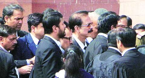 Subrata Roy was sent to the jail on March 4. (IE)