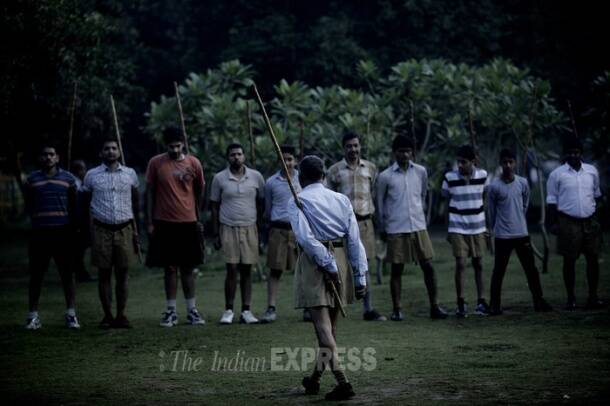 A day at the RSS shakha