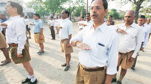 "wayamsevaks concede that RSS will look like BJP's ""younger borther"" after openly supporting them. (IE)"