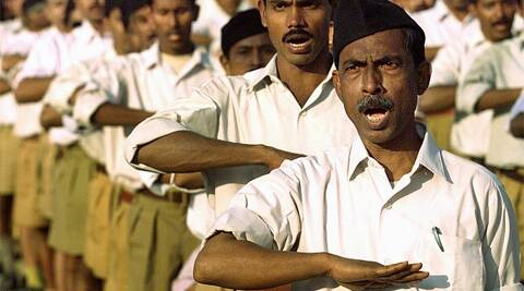 The report said the RSS was gaining in popularity among younger people through the Internet. (PTI)