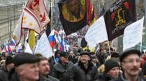 Mass rally in Moscow in support of Russian invasion of Ukraine