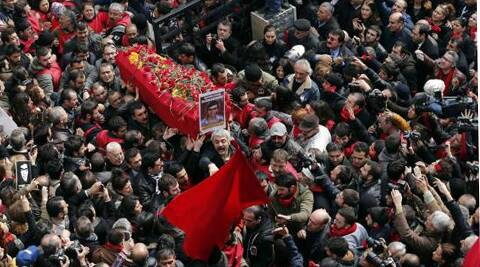 The teenager's death had caused unrest across turkey.(Reuters)