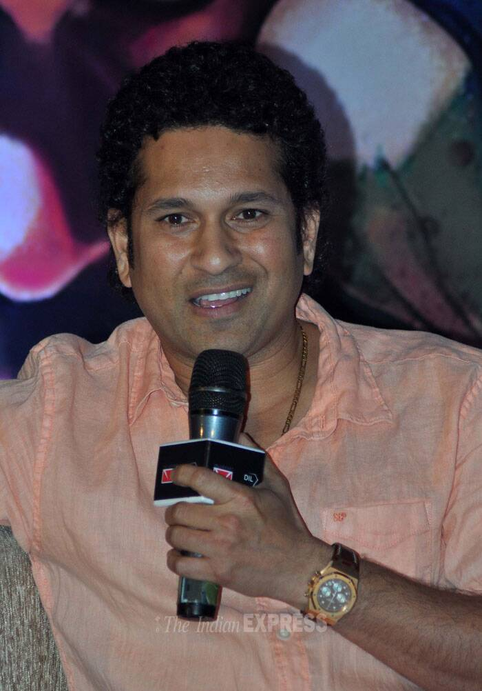 Asked if he collected coins, Tendulkar said apart from the ones that his coach Ramakant Achrekar used to put on top of stumps, he initially collected coins and stamps. (Photo: Varinder Chawla)