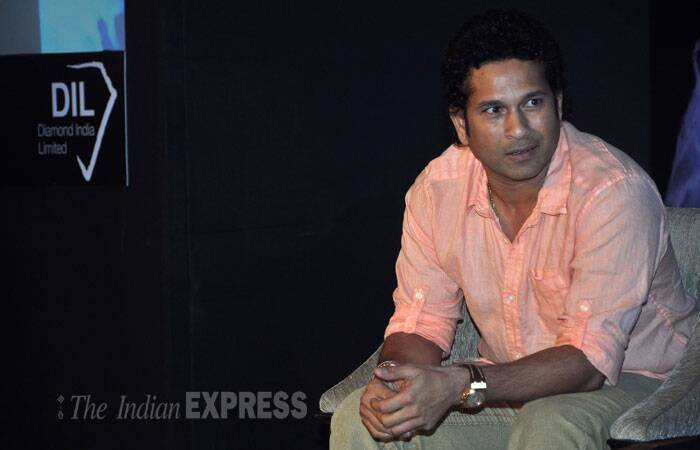 Retired batting great Sachin Tendulkar is optimistic about the chances of the under-performing Indian team successfully defending its World Cup crown next year, and wants the fans to lend it a whole-hearted support. (Photo: Varinder Chawla)