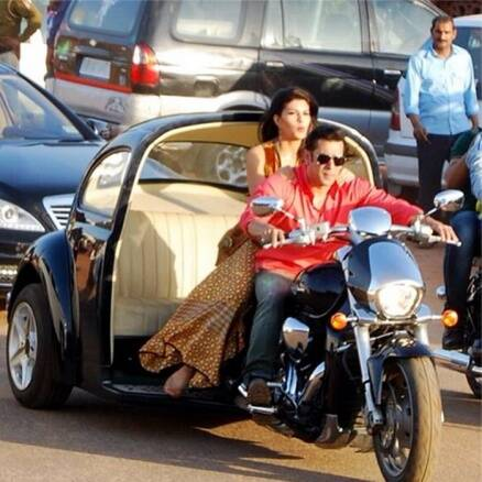 Salman, Jacqueline shoot for 'Kick'