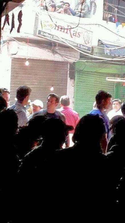Salman shoots for 'Kick'