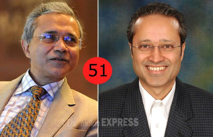 <b>Samir Jain</b>(58) Vice Chairman, Bennett and Coleman and Co. Ltd, <b>Vineet Jain</b> (46) Managing Director, BCCL<br /> <b>Why</b>: Their media conglomerate is one of the biggest in the world.