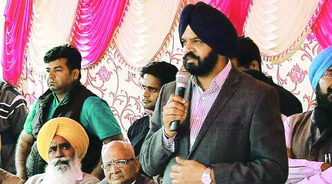 Ayali in Ludhiana on Tuesday. (Gurmeet Singh)