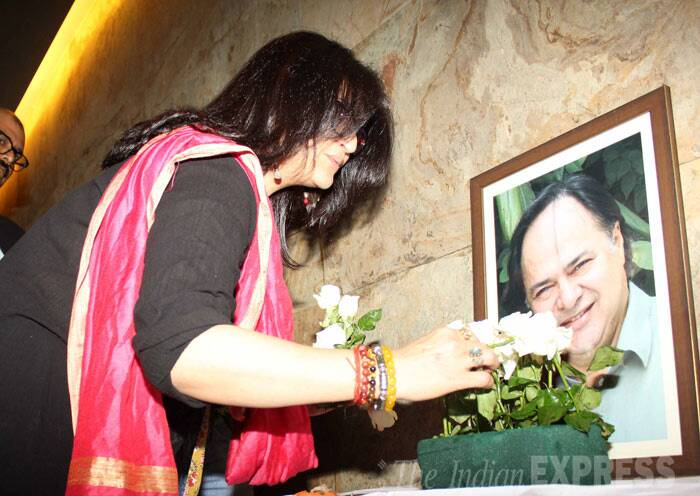 Sarika, who had worked with Farooq Sheikh in Club 60, pays tribute to the late actor. (Photo: Varinder Chawla)
